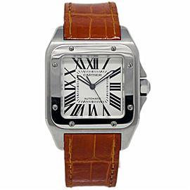 Cartier Santos 100 W20073X8 41mm Unisex Watch