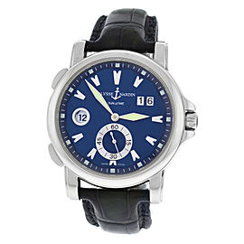 Ulysse Nardin Dual Time Big Date 243-55 42mm Mens Watch