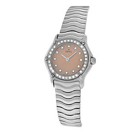 Ebel Sport Wave 9157115 23mm Womens Watch