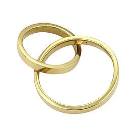 Tiffany & Co. Paloma Picasso 18K Yellow Gold Double Flat Circle Pendant
