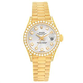 Rolex President Crown 69178 26.0mm Womens Watch