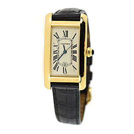 Cartier Tan Americaine W2603556 22mm Unisex Watch