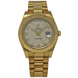 Rolex Day-Date II 218238 41mm Mens Watch