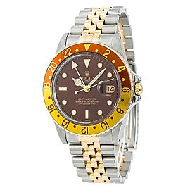 Rolex GMT-Master 16753 Vintage 39mm Mens Watch