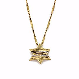 Roberto Coin Diamond, Sapphire Pendant
