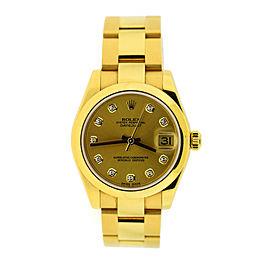 Rolex Datejust 178248 31mm Womens Watch