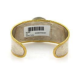 Gurhan Cavalier 24K Yellow Gold, Sterling Silver Bracelet