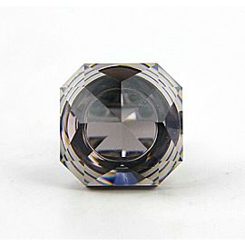 BACCARAT JEWELRY BOUCHONS DE CARAFE STERLING SILVER MIST RING SIZE 51 EU-5.5 US