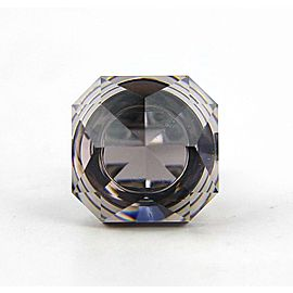 BACCARAT JEWELRY BOUCHONS DE CARAFE STERLING SILVER MIST RING SIZE 55 EU -7 US