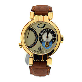 Harry Winston Premier 200-MMTZ39R 39mm Mens Watch