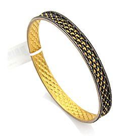 Gurhan Capitone 24K Yellow Gold, Sterling Silver Bracelet