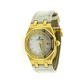 Audemars Piguet Royal Oak 67601BA 33mm Womens Watch