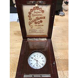 Ulysse Nardin Split Second Chronograph Stainless Steel Chronometer