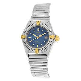 Breitling Callisto B52044 Steel Quartz Date 27MM Watch