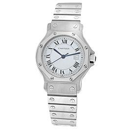 Cartier Octagon 30mm Womens Watch