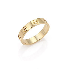 Cartier 18K Rose Gold Ring Size 4.5