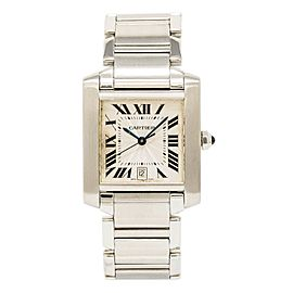 Cartier Tank Francaise 2302/W51002Q3 28mm Mens Watch