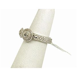Carrera Y Carrera 18K White Gold Diamond Ring