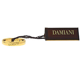 Damiani 20046835 18K Yellow Gold Diamond Size 7.25 Ring