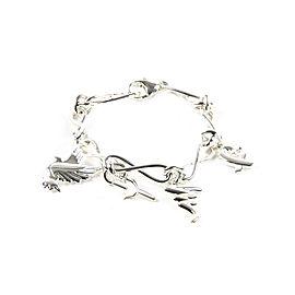 Tiffany & Co. Paloma Picasso Sterling Silver Charm Bracelet