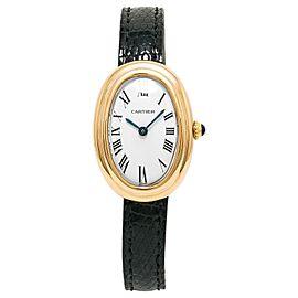 Cartier Baignoire W8000009 22mm Womens Watch