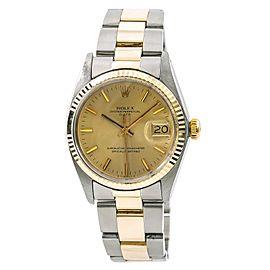 Rolex Date 1505 Vintage 35mm Mens Watch