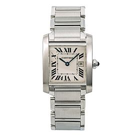 Cartier Tank Francaise 2465/W51011Q3 28mm Womens Watch