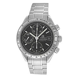 Mens Omega Speedmaster 3513.50 Steel Chronograph 39MM Automatic Watch
