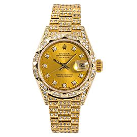 Rolex Datejust 69278 28mm Womens Watch