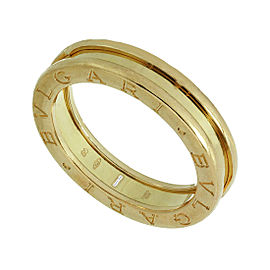 Bulgari B.Zero1 1-Band Ring 18K Rose Gold Size 9