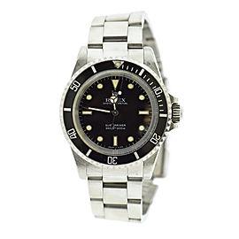 Rolex Submariner 5513 Vintage 40mm Mens Watch