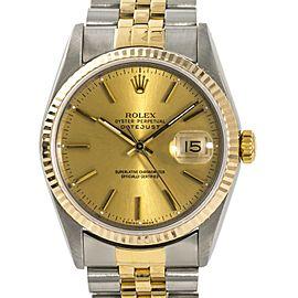 Rolex Datejust 16223 35mm Mens Watch