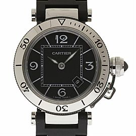 Cartier Pasha Seatimer W3140003 33mm Unisex Watch