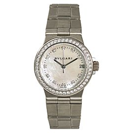 Bulgari Diagono LCVW29G 32mm Womens Watch