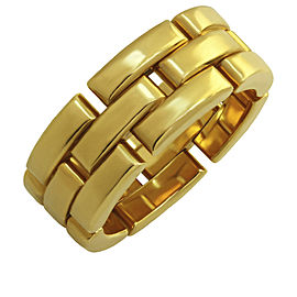 Cartier Maillon Panthere Ring 18K Yellow Gold