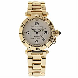 Cartier Pasha 2392 38mm Mens Watch
