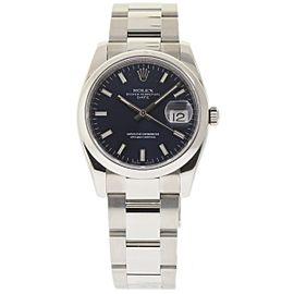 Rolex Date 115200 34mm Unisex Watch