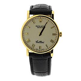 Rolex Cellini 5115 32mm Mens Watch