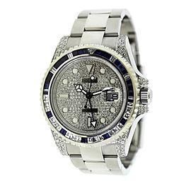 Rolex Diamond 116710 40mm Mens Watch