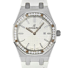 Audemars Piguet Royal Oak 67651ST.ZZ.D011CR.01 33mm Womens Watch