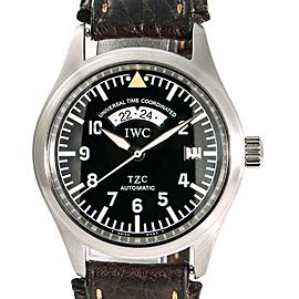 IWC Spitfire UTC 3251 39mm Mens Watch