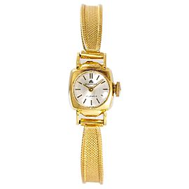 Bucherer Vintage 18K Yellow Gold Womens Watch