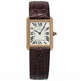 Cartier Tank Solo W5200025 34mm Womens Watch