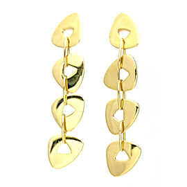 Mattioli 18k Yellow Gold Puzzle Drop Earrings
