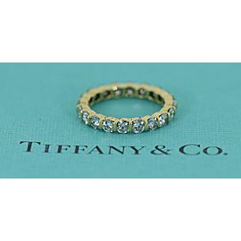 Tiffany & Co. Yellow Gold Diamond Ring Size 5