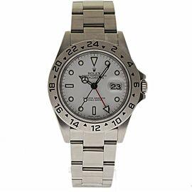 Rolex Explorer II 16570 40mm Mens Watch