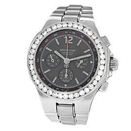Breitling Hercules A39362 Steel Diamond Automatic 45MM Watch