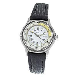 Ebel Discovery 983912 Steel 30MM Quartz Date Watch