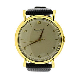 Iwc Vintage 36mm Mens Watch