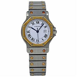 Cartier Octagon 2966 Vintage 31mm Womens Watch